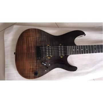 Custom Shop Suhr Brown Black Maple Top Electric Guitar