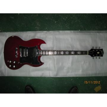 Custom Shop SG Angus Young Red Electric Guitar