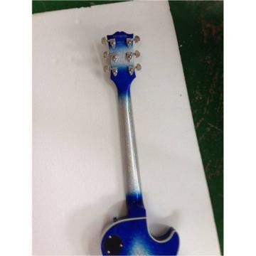Custom Shop Robot Left Handed Blue Ace Frehley Robot Electric Guitar