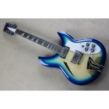 Custom Shop Rickenbacker Transparent Blue 360 Electric Guitar