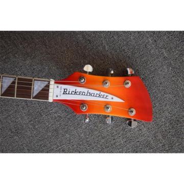 Custom Shop Rickenbacker 330 Fireglo Electric Guitar Neck Through Body