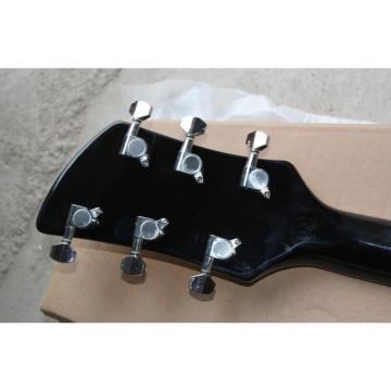 Custom Shop Rickenbacker 330 Black Electric Guitar