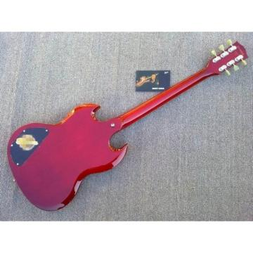 Custom Shop Red SG Angus Young Limited Edition Electric Guitar