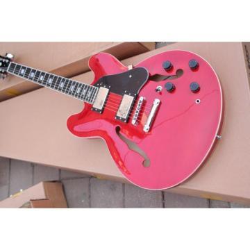 Custom Shop Red ES335 LP Electric Guitar