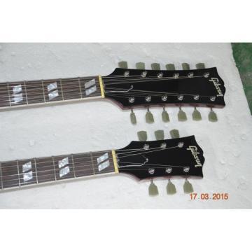 Custom Shop Red Don Felder SG EDS 1275 Double Neck Electric Guitar