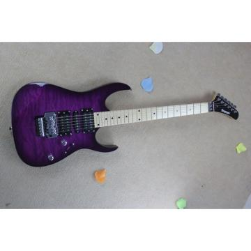 Custom Shop Purple Quilted Maple Top Kramer Electric Guitar