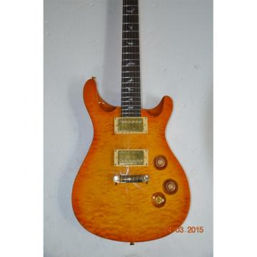Custom Shop PRS Quilted Maple Top Sunburst Electric Guitar 22 Frets