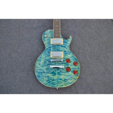 Custom Shop PRS Quilted Maple Teal 22 SE Standard Electric Guitar