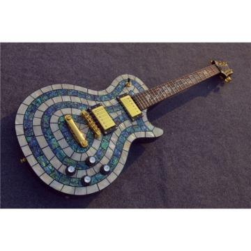 Custom Shop PRS Dragon Mother of Pearl and Abalone Electric Guitar MOP