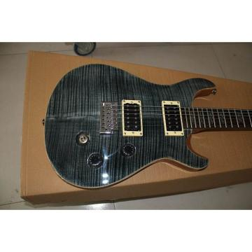 Custom Shop PRS Gray Flame Maple Top Electric Guitar
