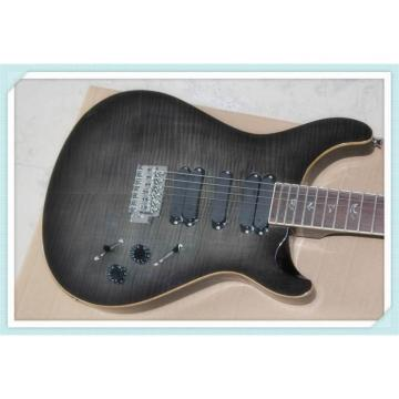 Custom Shop PRS Gray Burst 6 String Electric Guitar