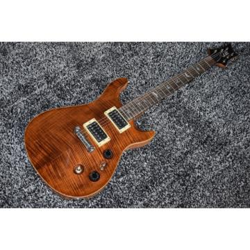 Custom Shop PRS Brown Tiger Maple Finish Electric Guitar