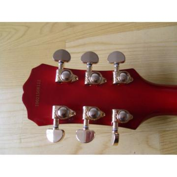 Custom Shop Prophecy Quilted Cherry Red Maple Electric Guitar