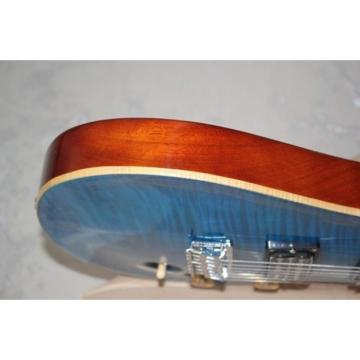 Custom Shop PRS 7 String Blue Flame Maple Top Electric Guitar