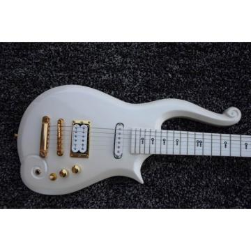 Custom Shop Prince 6 String Cloud Electric Guitar Left/Right Handed Option Stop Tailpiece