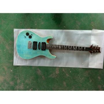 Custom Shop Paul Reed Smith Blue Tiger Electric Guitar