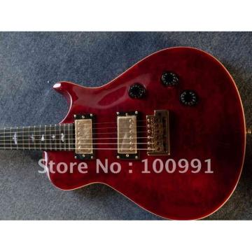 Custom Shop Paul Reed Smith Dark Red Electric Guitar