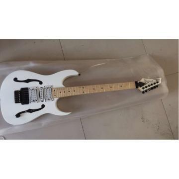 Custom Shop Paul Gilbert Ibanez Jem 7 White Electric Guitar