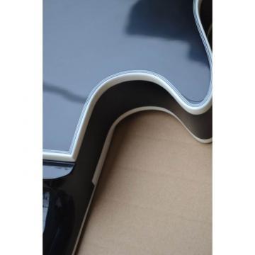 Custom Shop Maple Veneer Top Tobacco Color Electric Guitar