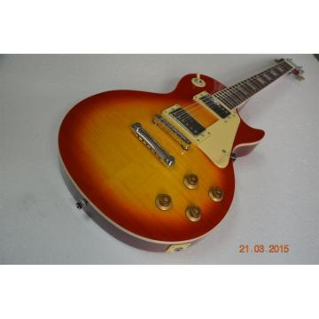 Custom Shop LP Sunburst Model Standard Electric Guitar