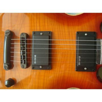 Custom Shop LTD Sunburst Electric Guitar