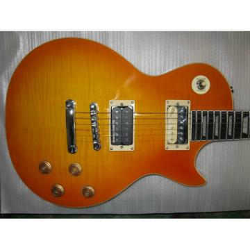 Custom Shop LP Sunburst Electric Guitar