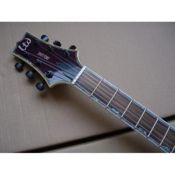 Custom Shop LTD Purple Electric Guitar