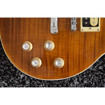 Custom Shop LP Standard Slash Flame Maple Top Electric Guitar