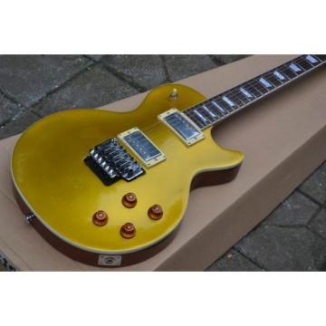Custom Shop LP Golden 1959 Floyd Vibrato Electric Guitar