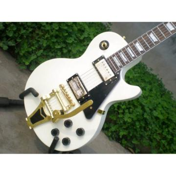 Custom Shop LP 1960 White Tremolo Electric Guitar