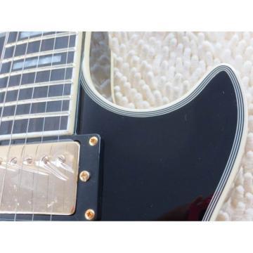 Custom Shop LP 1959 Tremolo Floyd Vibrato Black Beauty Electric Guitar