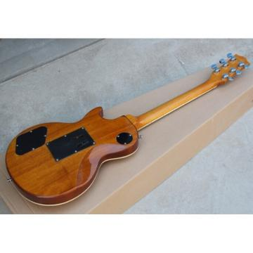Custom Shop LP 1959 Floyd Vibrato Yellow Maple Burst Electric Guitar