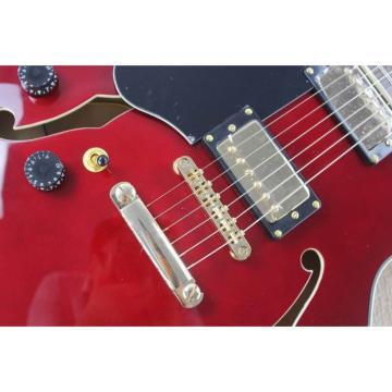Custom Shop Left Handed Burgundy ES335 LP Electric Guitar
