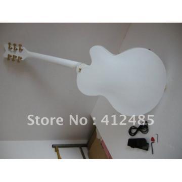 Custom Shop Left Hand Gretsch White Electric Guitar