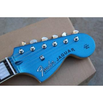 Custom Shop Kurt Cobain Blue Jaguar Jazz Master Electric Guitar