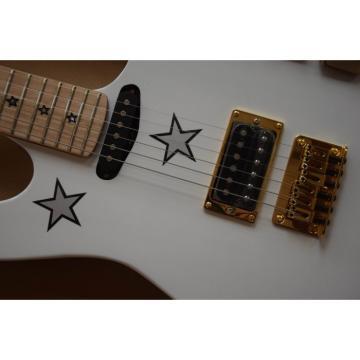 Custom Shop Kramer Double Neck White Richie Sambora Electric Guitar