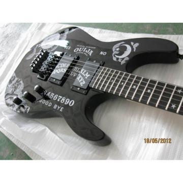 Custom Shop KH2OUIJA Kirk Hammett Ouija Black Opera Electric Guitar