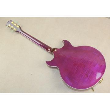 Custom Shop Johnny A Signature Purple Electric Guitar