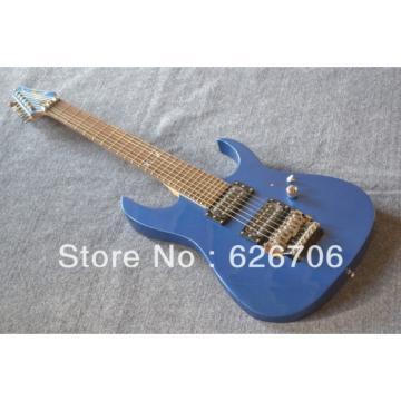 Custom Shop K7 Ibanez 7 Strings Blue Electric Guitar