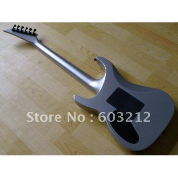 Custom Shop Jackson Soloist Silver Electric Guitar