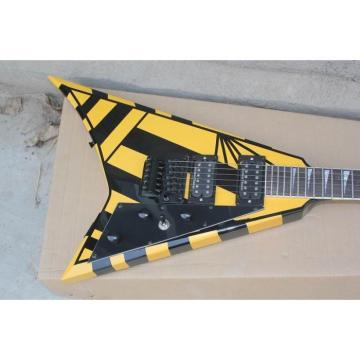 Custom Shop Jackson Randy Rhoads Yellow Stripe Electric Guitar
