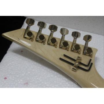 Custom Shop Jackson Dinky Soloist Cream Electric Guitar