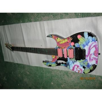 Custom Shop Ibanez Jem 7 Vai Flower Electric Guitar