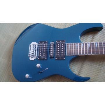 Custom Shop Ibanez Jem 7 Blue Electric Guitar