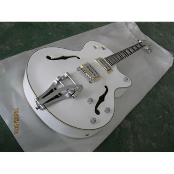 Custom Shop Gretsch White Nashville Electric Guitar