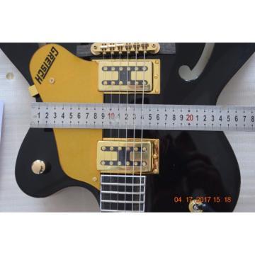 Custom Shop G6139T CB Black Falcon Electric Jazz Guitar Single Cut