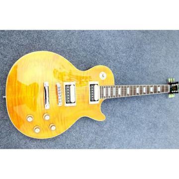 Custom Shop Flame Maple Top Sunburst Electric Guitar
