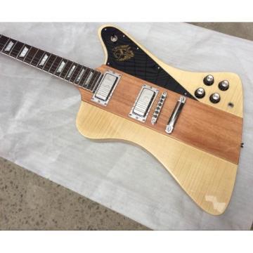 Custom Shop Firebird GOW Week 24 Flame Maple Natural 3 Pc Wood Electric Guitar