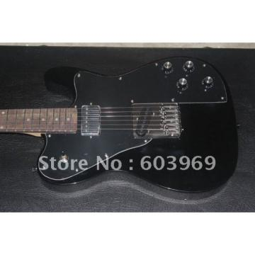 Custom Shop Fender Black Telecaster 1972 Classic Series Deluxe Electric Guitar