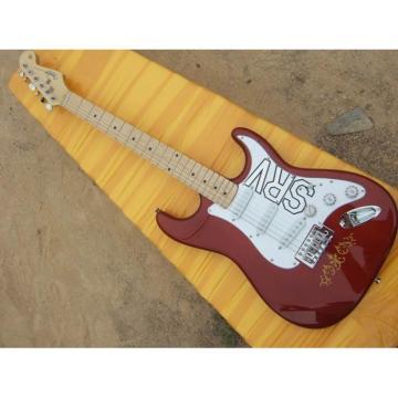 Custom Shop Fender Stevie Ray Vaughan SRV Red Wine Electric guitar